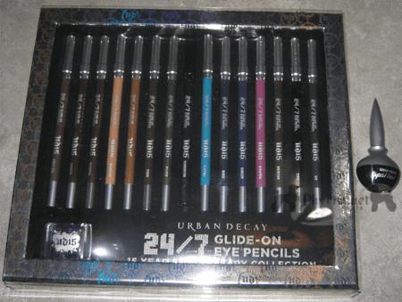 Urban Decay 15th Anniversary 24/7 Pencil Set