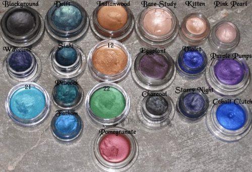 Paint Pots, Fluidlines & Other Gels Swatches
