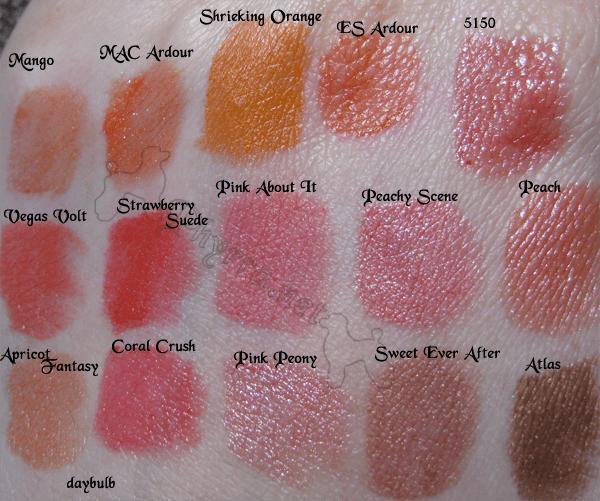 My Lipstick swatches