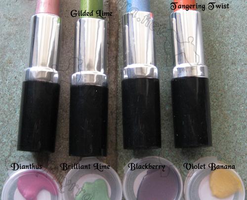 New Morgana Cryptoria Lipsticks