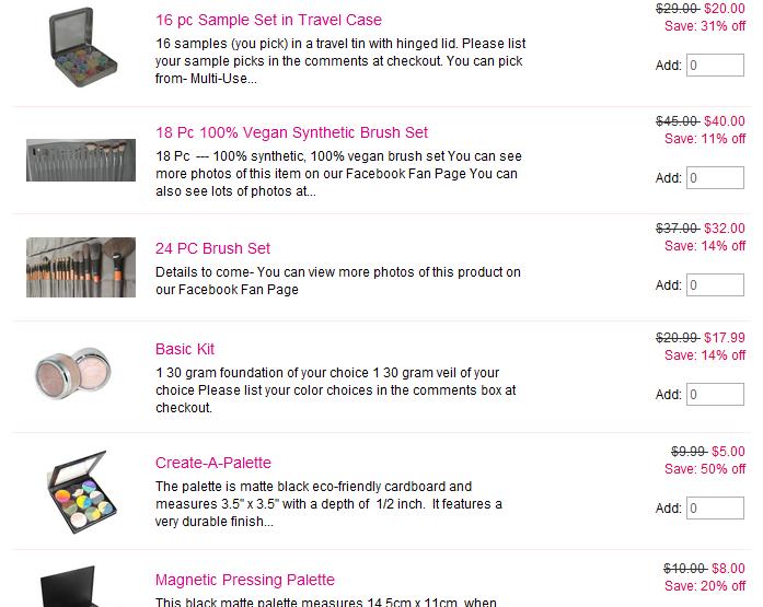 BftE Cosmetics Spring Break Sale!
