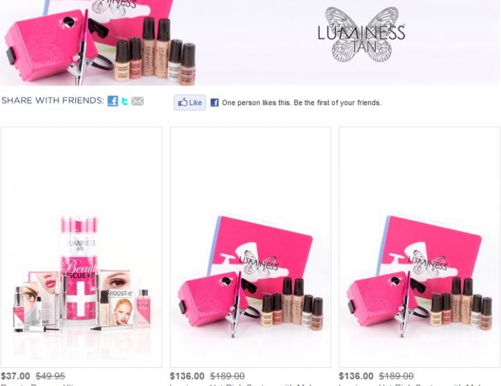 Luminess Airbrush Kits on Hautelook
