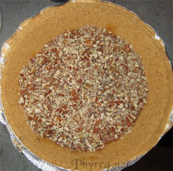 Chocolate (and Vanilla) Pumpkin Caramel Pie