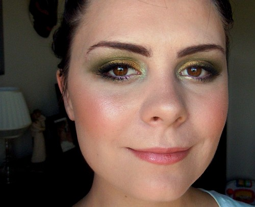 A St. Patrick's Day look from Erin