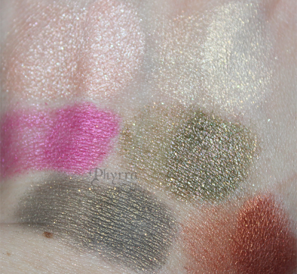 New Milani Eye Shadows - Swatches & Thoughts