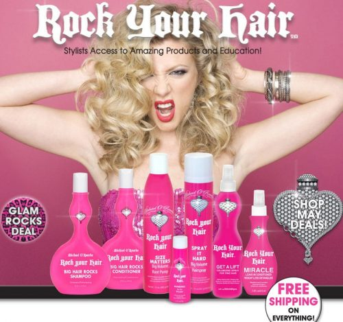 Rock Your Hair – Michael O'Rourke – Bombshell & New Cuts