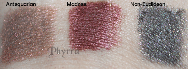 Geek Chic Cosmetics Antequarian, Madness, Non-Euclidean Swatch