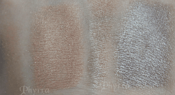 Urban Decay Rock and Melt swatches