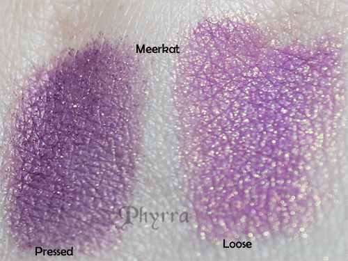 Fyrinnae Meerkat Swatch Comparison