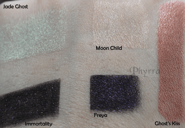 Fyrinnae Ghost's Kiss Swatches