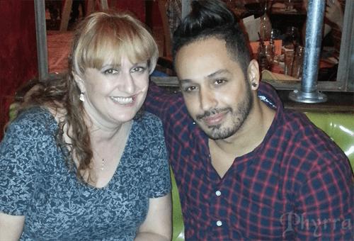 Kimberly and Orlando