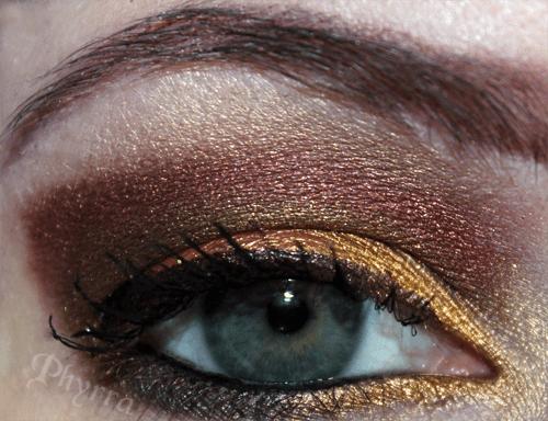 Makeup Wars Fall Eye Look