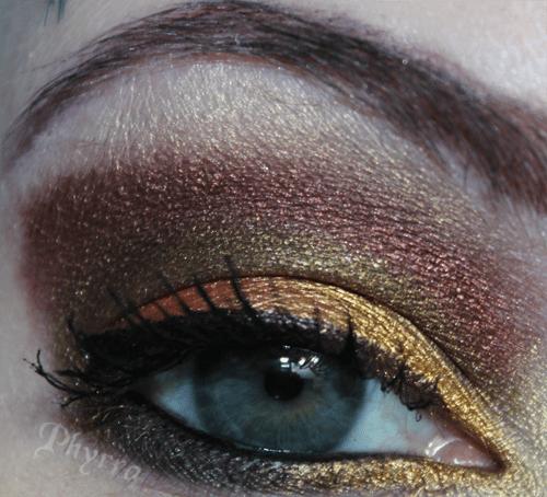 Makeup Wars Fall Eye Look 2