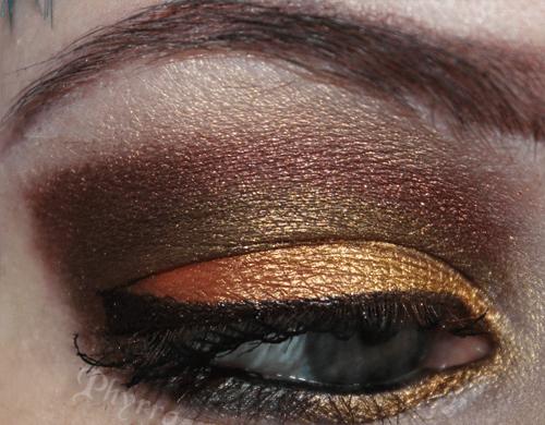 Makeup Wars Fall Eye Look Side