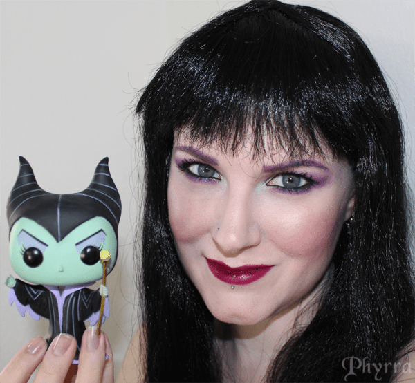 Me with my funco Maleficent Doll