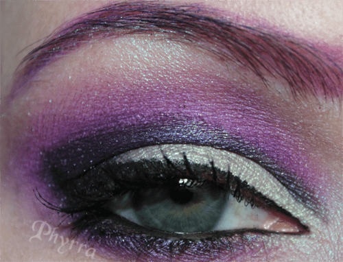 Disney Villains Maleficent Eye with Sugarpill Poison Plum