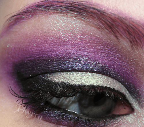 Disney Villains Maleficent Eye with Evil Shades Nightshade and Sugarpill Lumi