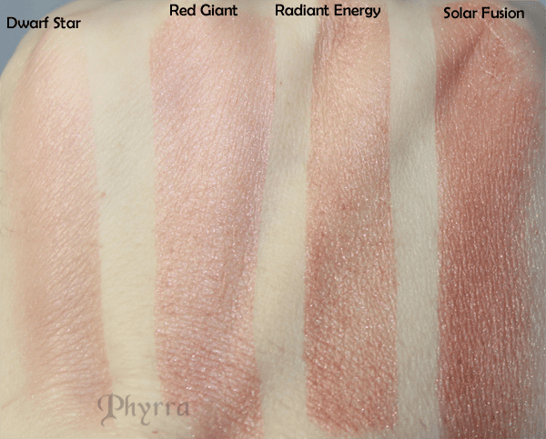 Meow Harvest Moon Blush Swatches 1