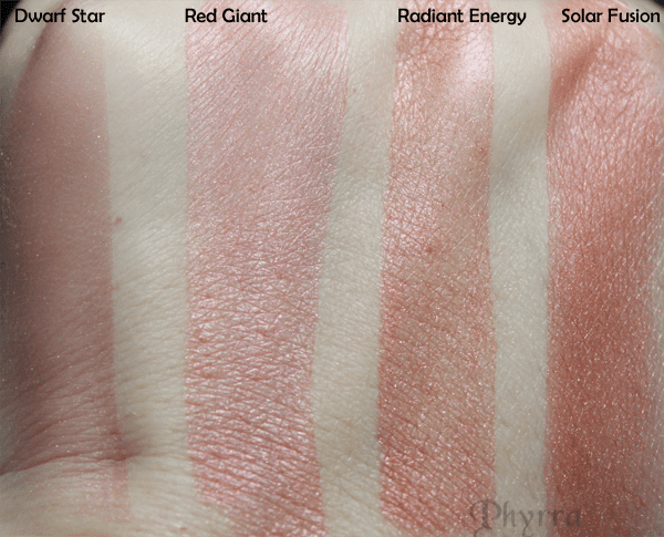 Meow Harvest Moon Blush Swatches 2