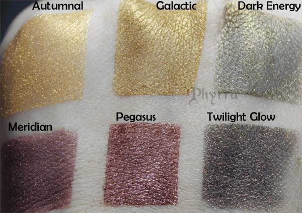 Meow Harvest Moon Collection Swatches