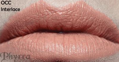 Obsessive Compulsive cosmetics Interlace Lip Tar Swatch