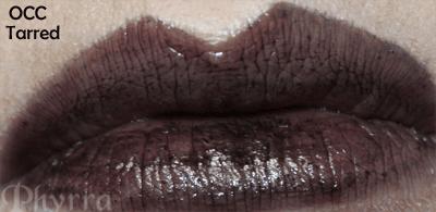 Obessive Compulsive Cosmetics Tarred Lip Tar Swatch