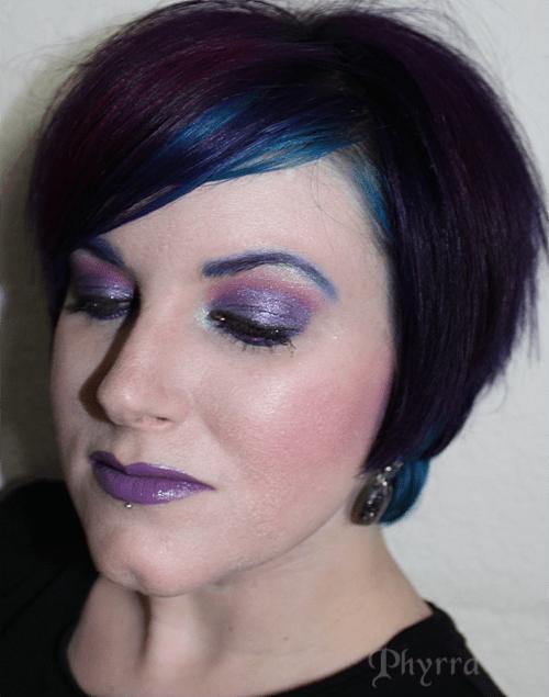 Obsessive Compulsive Cosmetics Butch and Demure Mix Lip Swatch