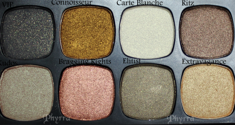 Bare Minerals The Star Treatment Swatches and Review