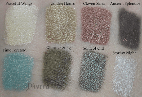 Meow Cosmetics Holiday 2012 Midnight Clear Swatches and Review