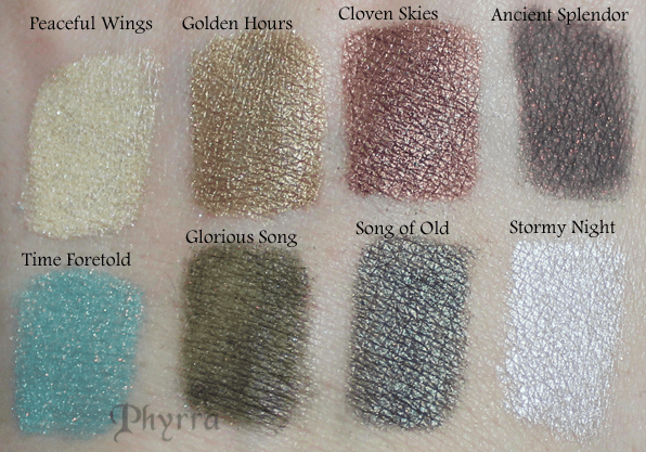 Meow Holiday 2012 Midnight Clear Collection Swatches & Review