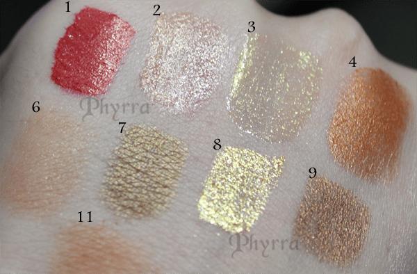 Holiday Metallics Lips and Liner and Blush