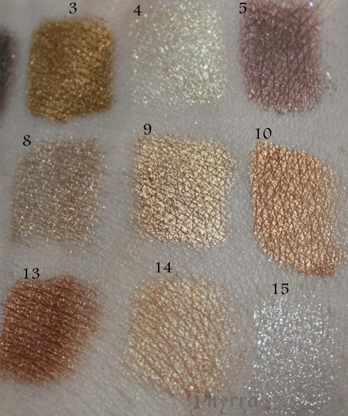 Metallic Holiday Eyeshadows