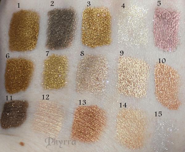 Holiday Eyeshadow Metallics