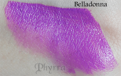 Obsessive Compulsive Cosmetics Belladonna Skin Swatch