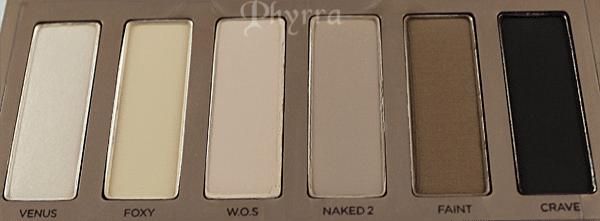 Urban Decay Naked Basics Palette Shades