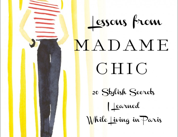 Lessons from Madame Chic Book Giveaway