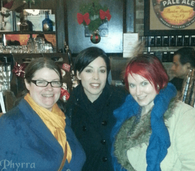 Christine, Maria, Phyrra