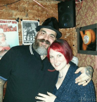 Phyrra with James Vincent at Nowhere