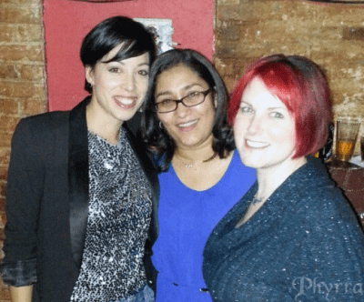 Maria, Claudia and Phyrra