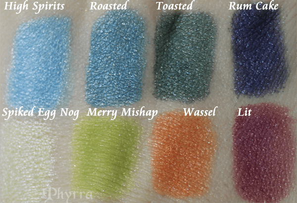 Meow Deck Your Halls Collection Review and Swatches