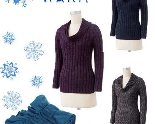 Cowlneck Sweaters and Infinity Scarves
