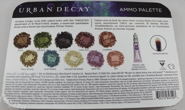Urban Decay Ammo Palette
