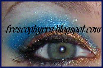 Glamour Doll eyes - Rusty, Blueberry Lush, Disco White & Dusk