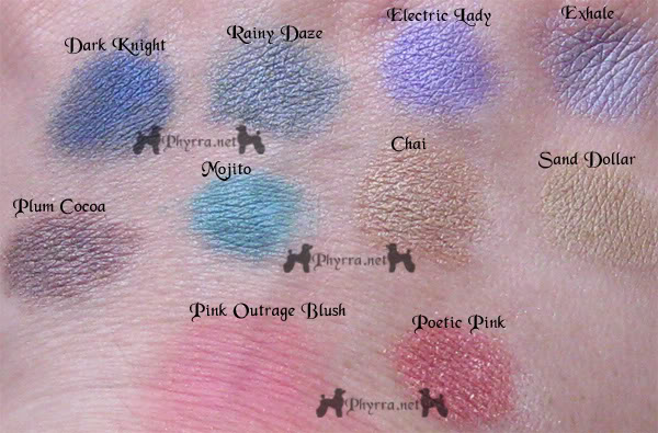 Darling Girl Cosmetics - Swatches