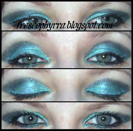 Friday's Turquoise and Teal Look
