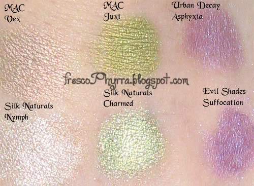Some Famous Brand Color Swatches & Their Dupes