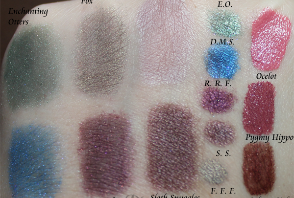 Fyrinnae Endangered 2012 Review and Swatches