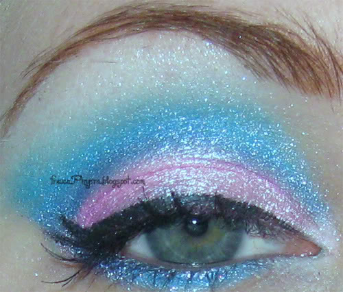 Cotton Candy Pink & Blue Look