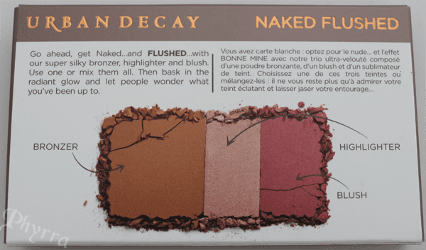 Urban Decay Naked Flushed Palette