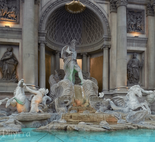 A gorgeous fountain